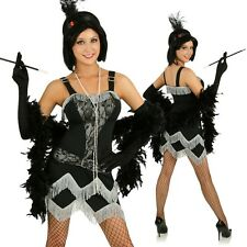 Adult 20s Flapper Costume Charleston Dress Gatsby Roaring Twenties Party Outfit