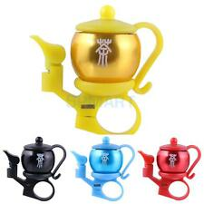 Creative Teapot Design Bicycle Alarm Bell Ring Cycling Bike Handlebar Bell