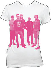MAROON 5 - Pink HalfTone Photo - Girlie T SHIRT top S-M-L-XL Brand New Official