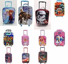 Disney Character Kids Holiday Travel Suitcase Trolley Lightweight Wheeled Bag