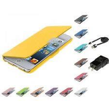 For iPod Touch 5th Gen 5G 5 Color Wallet Leather Hard Case Pouch Accessories