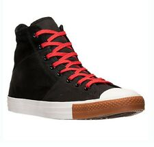 CONVERSE WOMEN UNISEX SHOES CHUCK TAYLOR ALL STAR HIGH TOP SNEAKERS RED BLACK