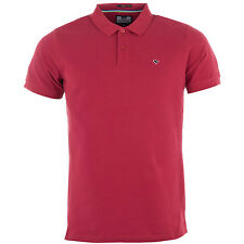 Mens Weekend Offender Hazel Dove Polo Shirt In Berry This Polo Shirt