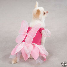 new Zack & Zoey Fairy Tails Princess Butterfly Dog Halloween Costume XS
