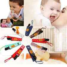 Lovely Baby Boy Girl Dummy Pacifier Soother Nipple Leash Strap Chain Clip Holder