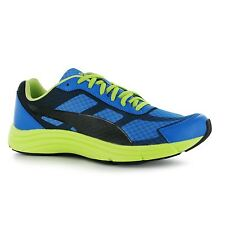 Puma Expedite Running Shoes Mens Blue/Green Fitness Trainers Sneakers