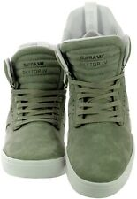 Scarpe Uomo Verde Bianco Supra Skytop IV Sneakers Men Laurel Shoes S99019