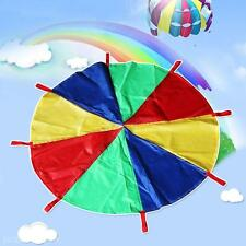 2M/3M Children Kids Play Parachute Outdoor Sport Exercise Group Game Toy
