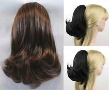 "9"" STRAIGHT HAIR W/ FLIPPED ENDS PONYTAIL HAIRPIECE W/ DRAWSTRING HAIRDO RAYNA"