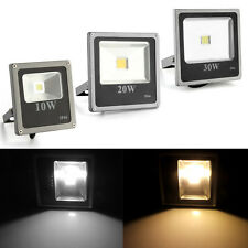 10W 20W 30W RGB Warm / White Waterproof High Power LED Floodlights Security Lamp