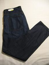 Willis & Walker Collection Classic Stonewash Relaxed / Straight Fit Indigo Jeans