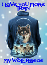 I Love You More Than My Wolf Fleece ~ Valentine's Card