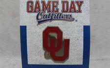 Oklahoma Sooners Logo Lapel Hat Tie Pin Officially Licensed