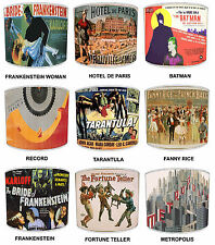 Vintage Posters Theme Table Lamp Shades Or Ceiling Light Shades Lampshades