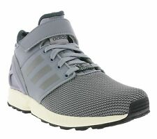 New adidas Shoes Sports ZX FLUX NPS MID Grey Sneakers Casual Shoes B34222