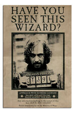 Harry Potter Wanted Sirious Black Poster New - Maxi Size 36 x 24 Inch