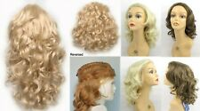"""3/4 CAP WAVY CURLS CURLY FALL HAIR EXTENSIONS W/COMB HAIRPIECE 19"""" LONG FELICIA"""