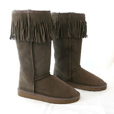 HAND-MADE Australia SHEARERS UGG Fringe Sheepskin Fashion Classic Tall Boots