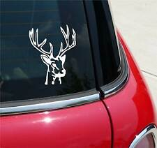 DEER ANTLERS HUNTING RACK SEASON GRAPHIC DECAL STICKER ART CAR WALL DECOR