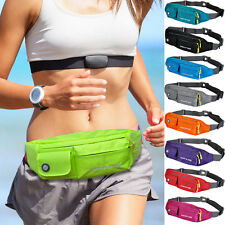 Unisex Nylon Outdoor Sport Bum Bag Waist Fanny Pack Cross Body Sling Chest Bags