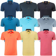 62% OFF RRP Callaway Golf Mens X Range Contrast Collar Opti-Stretch Polo Shirt