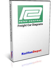Penn Central Freight Car Directory and Diagrams - PDF on CD - RailfanDepot