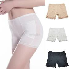 New Sexy Women Safety Panty Underwear Soft Lace Plain Boxer Briefs Shorts Pants