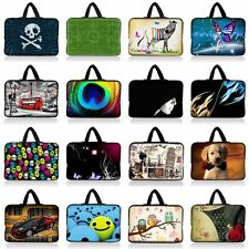 """15"""" 15.6"""" SOFT NEOPRENE LAPTOP SLEEVE NOTEBOOK BAG CASE COVER POUCH +HIDE HANDLE"""