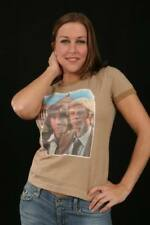 T-Shirts New All The President's Men Retro Vintage Transfer Juniors Tee Shirt