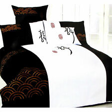 350TC Pure Cotton Ripple Quilt Cover Set by Orient Sense - Queen OR Accessories