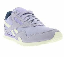 NEW Reebok CL Nylon Slim Core Shoes Women's Sneakers Trainers Violet V68403