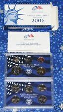 United States Mint 2006 Edition Proof Coin Set Complete with Box and Certificate