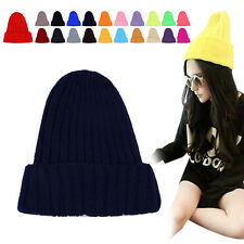 Autumn Winter Unisex Color Warm Wool Hat Couples Cap Pointed Hats Beanies
