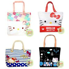 Sanrio Hello Kitty Shopping Canvas Handbag Tote Bag