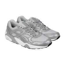 Puma R698 Reflective Mens Gray Synthetic Lace Up Sneakers Shoes