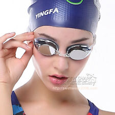 YINGFA professional racing swim swimming goggles Adult anti fog mirrored Y570M