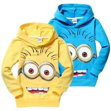 2016 despicable me 2 minions boys clothes girls nova shirts child Spring hoodies