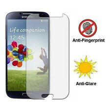 SAMSUNG GALAXY S4 - ANTI FINGERPRINT ANTI-GLARE SCREEN PROTECTOR LCD COVER FILM