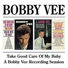 BOBBY VEE Take Good Care of My Baby/A Bobby Vee Recording Session. BGO CD