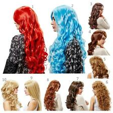 Stylish Ladies Wig Long Wavy Curly Fancy Dress Party Full Cosplay Fashion