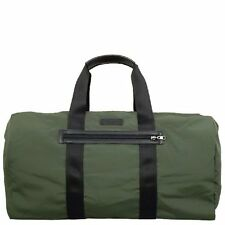 NWT $248 COACH Varick Nylon Packable Duffle GYM BAG Gunmetal Olive F93342