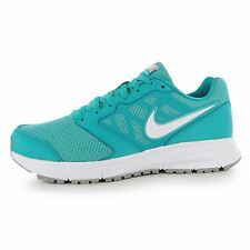 Nike Downshifter 6 Running Shoes Womens Green/White Fitness Trainers Sneakers