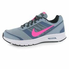 Nike Air Relentless 5 Running Shoes Womens Grey/Pink Fitness Trainers Sneakers