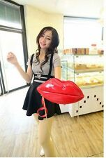 New Women Lady Big Lips Evening Party Clutch Shouder Hand Bag Purse Special