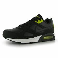 Nike Air Max Ivo Training Shoes Mens Black/Black/Citron Sports Trainers Sneakers