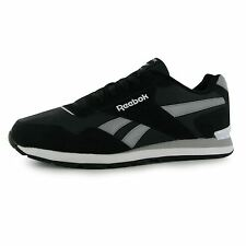 Reebok Glide Clip Ripstop Trainers Mens Black/Grey/White Casual Sneakers Shoes