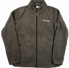 Columbia Men's Steens Mountain Solid Full-Zip MicroFleece Jacket Buffalo Brown
