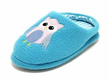 Ladies Girls Slippers Size 28-39 Owl Slippers Slippers slippers slippers blue