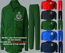 SALE 2XL 3XL UNIT D - I MILITARY ARMY RAF ROYAL NAVY MARINES TRACKSUIT 5 COLOURS
