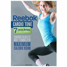 REEBOK CARDIO TONE on a DVD of WEIGHT LOSS Fitness WORKOUT Exercise PLAN & VIDEO